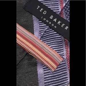 Ted Baker tie silk like new